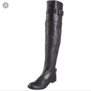 Steven by Steve Madden leather kneehigh Sabra boot
